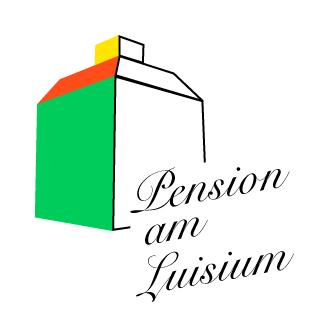 Logo der Pension am Luisium