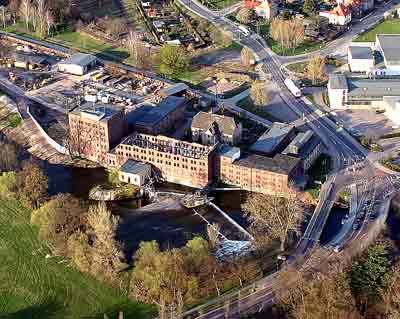 Luftbildaufnahme aus dem Jahr 2005